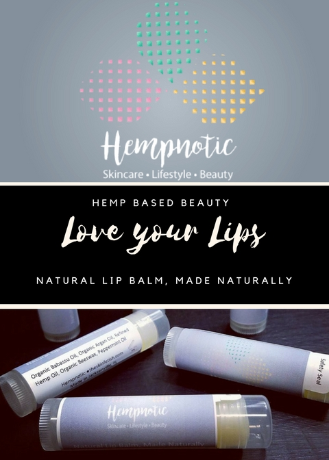 Introducing Hempnotic Lip Balm